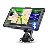 AWESAFE Bluetooth Navigatore Auto Camper 7 Pollici 2021 GPS Navigatore Satellitare Camion Autobus Taxi, Avviso Traffico Vocale, Limite di Velocità, Aggiornamenti gratuiti delle mappe a vita