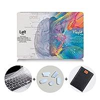 YIBO グラフィティ場合のMacbook Airは11 13のProのRetina 12 13 15 16インチのタッチバーは、2020カバーはマックブックProの13.3 A2289 +ラップトップバッグ (Color : MB02, Size : New Air A1932 A2179)