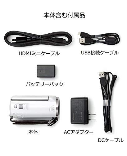 『パナソニック HDビデオカメラ V360MS 16GB 高倍率90倍ズーム ホワイト HC-V360MS-W』の7枚目の画像