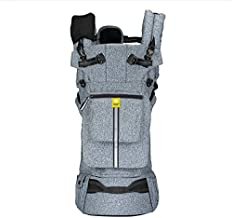 LÍLLÉbaby Pursuit Pro Six-Position Customizable Baby and Child Carrier with Lumbar Support, Heathered Grey