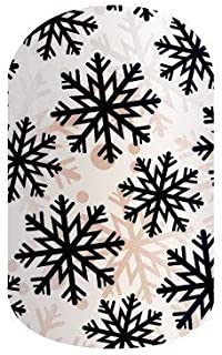 Jamberry Nails - Silent Snow (Half Sheet) *Holiday Wrap*