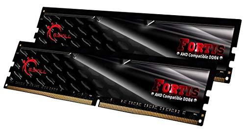 G.SKILL Fortis Series 16GB (2 x 8GB) 288-Pin DDR4 SDRAM DDR4 2400 (PC4 19200) (Desktop Memory) Model F4-2400C15D-16GFT