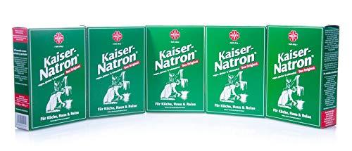 5x HOLSTE Kaiser Natron 250g Soda, Backen, kochen, waschen, reinigen Haus, Küche