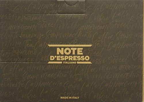 Note D\'Espresso Preparato in Polvere per Bevanda al Gusto di Tè alla Pesca, Ginseng e Zenzero con Zucchero di Canna ed Estratto di Aloe - 768 g (48 x 16 g)