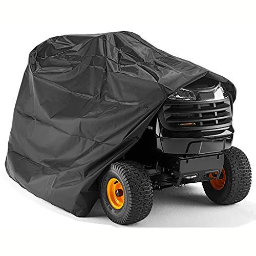 Funda para Cortacésped Cubierta del Cortacésped, Impermeable Resistente Oxford, Funda para cortacésped Funda para Cortacésped del Tractor Tamaño Grande con Cordón y Bolsa ( Size : 245x50x140cm )