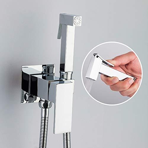 Duschkopf Chrom Bidets Badezimmer Toilette Sprayer Dusche Bidet Tap Hygienische Dusche Wandhalterung Wasserhähne