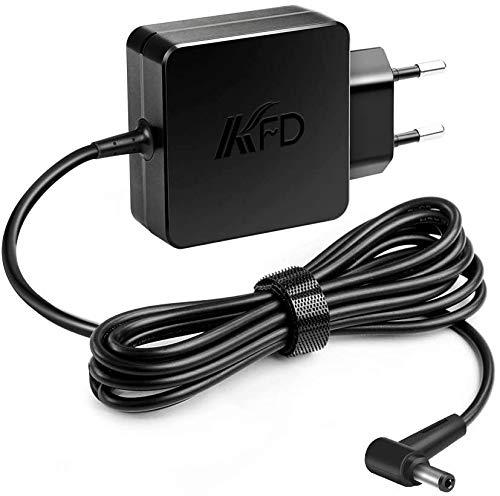 KFD 45W Cargador Fuente de alimentación Adaptador para Asus AD883220 010KLF BAH F555L F552C X551M F551M F551C X551C X54C Philips LCD Monitor 224E5Q 234E5 237E4Q 246E9QJAB/00 246E9QDSB/00 19V 2,37A