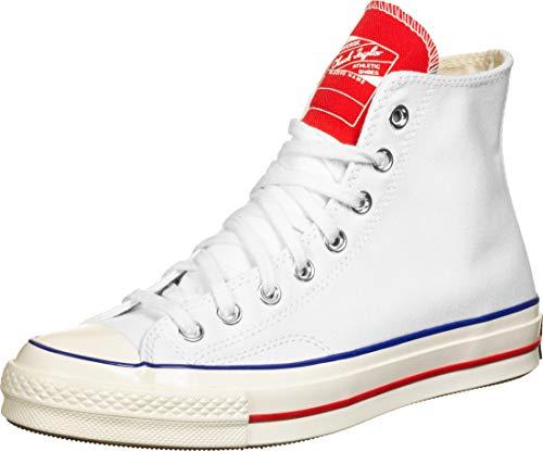 Converse Chuck 70 Twisted Tongue Hi Sneakers Bianche da Uomo-UK 10 / EU 44