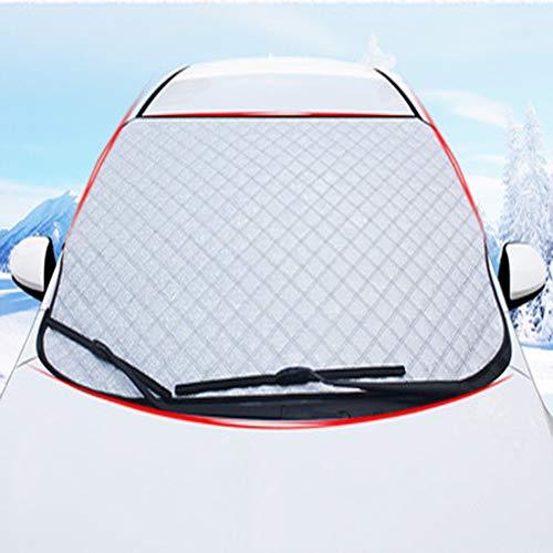Protector para Parabrisas, Láminas de Protección contra el Hielo Coche Antihielo y Nieve Proteja Bien el Parabrisas del Vehículode la Escarcha y la Nieve en Invierno,93 * 143cmforcar