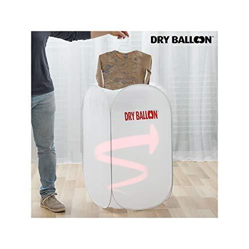 Thermic Dynamics Dry Balloon Compact Sèche Linge Portable en Nylon Blanc, 50 x 48 x 90 cm
