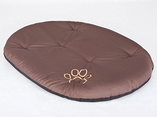 Hobbydog R5 PODJBR4 Dog Pillow R5 - Almohada para Perros (71 x 54 cm, 400 g), Color marrón Claro