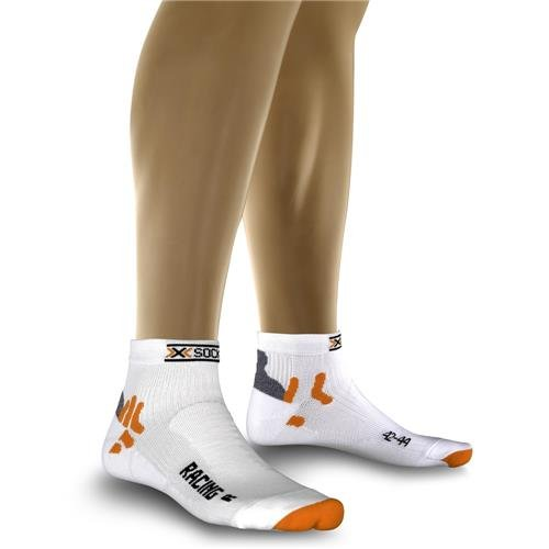 X-Socks Herren Socken BIKING RACING, White, 45/47, X020002