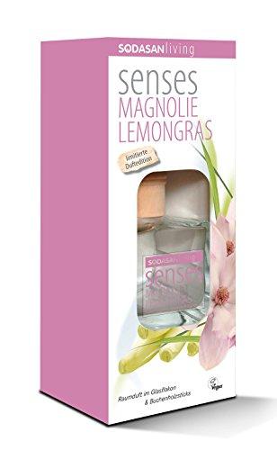SODASAN Raumduft Magnolie Lemongras 200ml - Bio aus reinen ätherischen Ölen