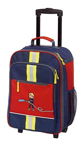 sigikid, Jungen, Trolley, Motiv Frido Firefighter, Blau/Rot, 25044