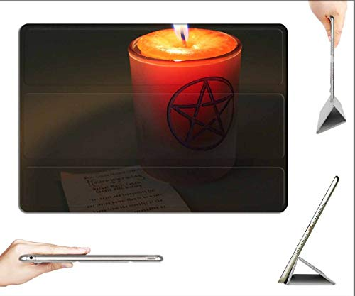 Case for iPad Pro 12.9 inch 2020 & 2018 - Candle Magic Candle Magick Flame Spell Occult