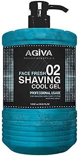 Agiva Transparent Shaving Gel 02 with Moisturize Impact 34oz