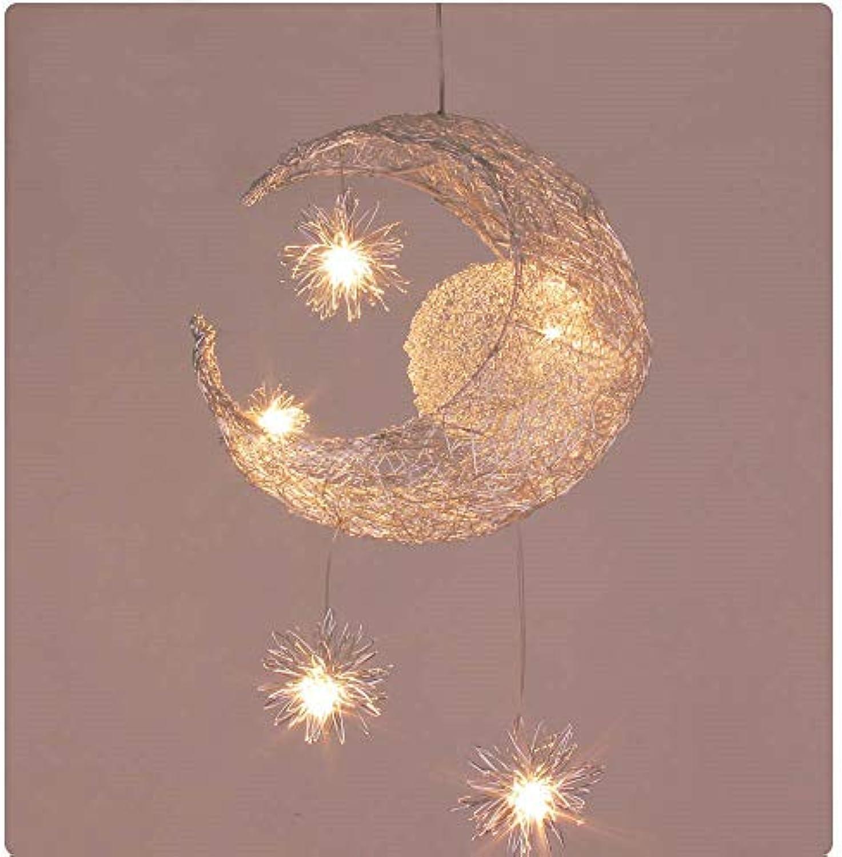 Beleuchtung Kinderzimmer Pendelleuchten Moderne Mond ...
