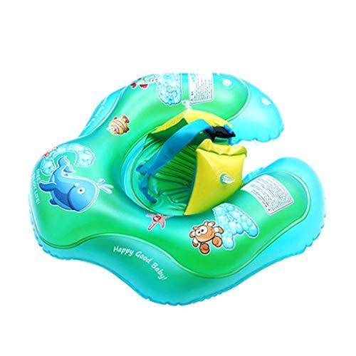 sitonelectic Schwimmring für Babys, aufblasbar, für Schwimmbad, Kinder-Trainer, Sicherheitshilfe, Rettungsring, Rollover, Prävention