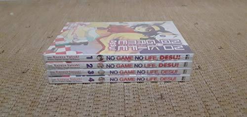 No Game No Life, Desu! - Newpop - Coleção Completa em 04 Volumes