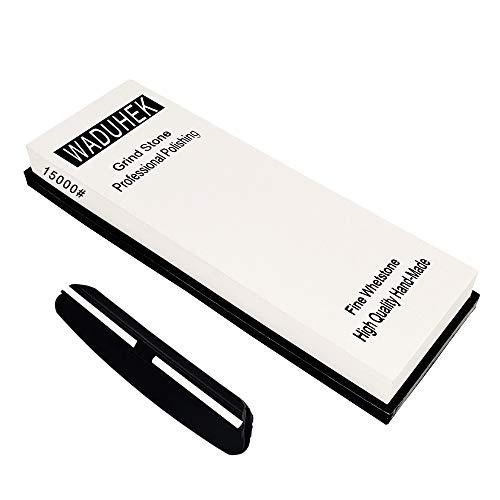 FXYHELLO Whetstone Küche Schleifstein Set, 10000/12000/15000/20000 Grit Professionelle japanischer Wasserstein Schleifer mit Anti-Rutsch-Basis (15000 Grit)