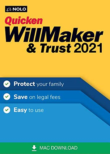 Nolo WillMaker & Trust 2021 [Mac Download]