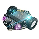 Yahboom Micro:bit Smart Robot Kit for Kids DIY Programmable STEM Education Toy Car Super Cost-Effective (Without Micro:bit)