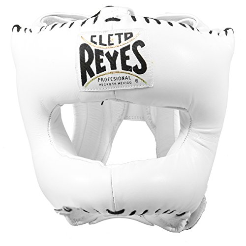 Cleto Reyes Redesigned Headgear with Nylon Face Bar - White
