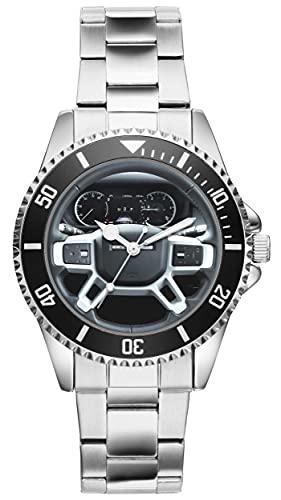 Montre Homme Cadeau pour Land Rover Defender Fans Cockpit Quartz Analogique Montre-Bracelet 20991