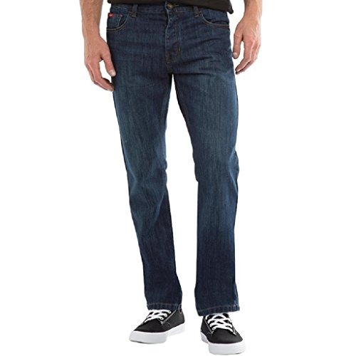 Lee Cooper Herren Basicon Straight Jeans, Blau (Darkwash Darkwash), 32 W/34 L