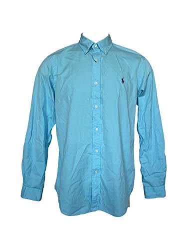 Polo Ralph Lauren Men's Standard Issue Classic fit Pants (Large, Hammond Blue)