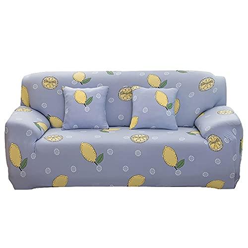 Funda de sofá elástica Asientos de Esquina elásticos Funda de sofá Funda Universal para Sala de Estar Funda de Licra en Forma de L Necesita Comprar 2 Piezas A23 2 plazas