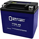 Mighty Max Battery YTX5L-BS Lithium Battery Replaces Honda Ruckus Elite Metropolitan Brand Product