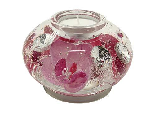 Dreamlight Beau Bol d/écoratif Bol /à Fruits Coquille c/éramique Blanc//Argent 24x17,5cm