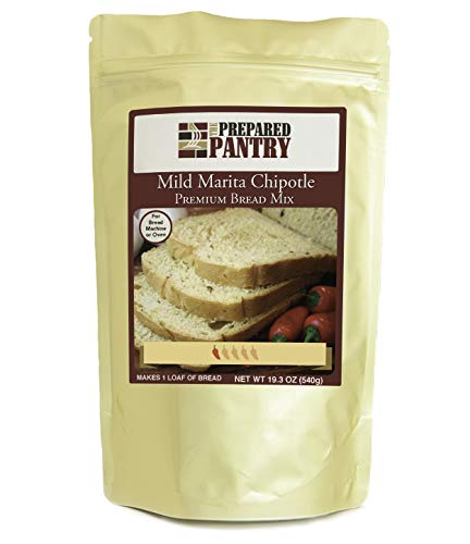 The Prepared Pantry Mild Marita Chipotle Cheese Bread Mix; Single Pack; For Bread Machine or Oven