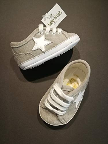 BABY CHIC - Zapatos DE Primer Paso Baby COT Made IN Italy