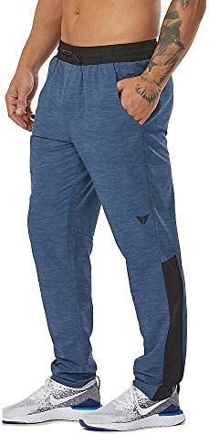Road Runner Sports KORSA Men s Workout Tech Pants with Zipper Pockets for Running Training Gym product image
