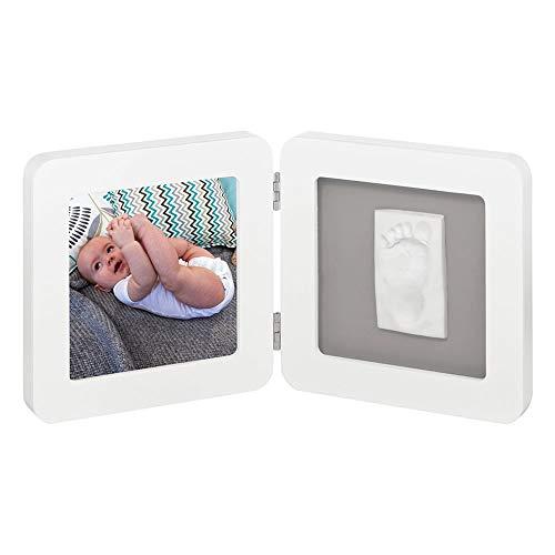 Baby Art Print Frame - Blanc / Gris
