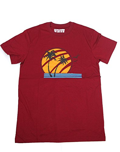 OEM Last of Us Ellie T-Shirt Coconut Tree Joel Survival Horror (L) Red
