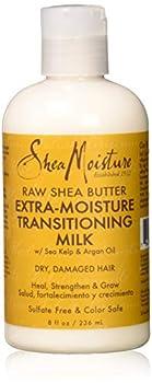 SheaMoisture Raw Shea Butter Extra-Moisture Transitioning Milk 8 Ounce