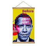 WPQL Líder Americano puede colgar carteles decorativos de comedor, pasillo,...
