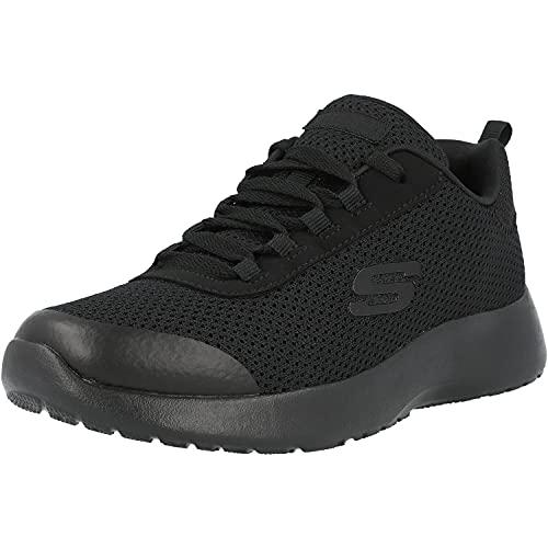Skechers Jungen Dynamight Turbo Dash-97771l Sneaker, Schwarz (Black/Black Bbk), 38 EU