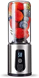 LINANNAN Mélangeur USB Rechargeable Mini Juicer, Coupe de mélangeur électrique Multifonctions ménagère, meulage des Alimen...
