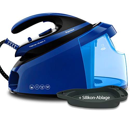 Tristan Auron TA_DBS_SF_Blau Centro de planchado, Suela de cerámica, Superfast (azul)