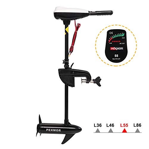 top rated Electric trolling motor at 8 saltwater levels of PEXMOR 55 lb 2020