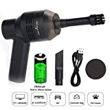 Keyboard Cleaner, USB Rechargeable Mini Vacuum Cleaner for MacBook ipad Laptop Computer Fit for Cleaning Dust, PC, Hairs, Crumbs,Makeup Bag,Scrap, Piano, Computer, Car and Pet House