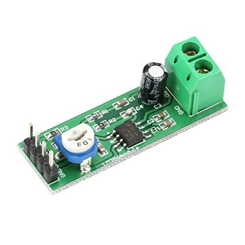 Ballylelly LM386 Super Mini 200X Módulo de Placa de Amplificador de Potencia Mono Canal electrónico Herramienta de Bricolaje Audio Amplificar Volumen Ajustable