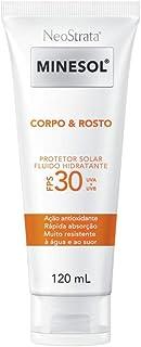 Neostrata Minesol Corpo & Rosto Protetor Solar Fluido Hidratante Fps 30 120 Ml, Neostrata