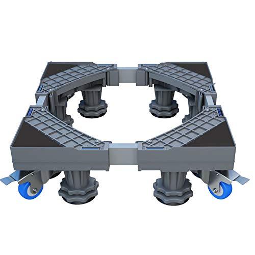 DONGBALA Base de la máquina Prensa Nevera Soporte Holder, múltiples Funciones de Base Ajustable movible, para la Lavadora, frigorífico y Secadora