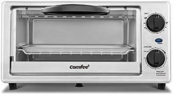 Comfee 4-Slice Toaster Oven Countertop