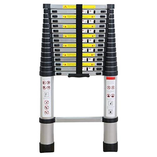 Stap Ladder-Aluminium Telescopische Opvouwbare Multi Purpose Ladder Draagbare stappen Uitschuifbaar 5.0M/16.4ft